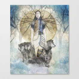 Five Souls Canvas Print