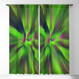 Abstract Fractal Background Blackout Curtain