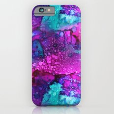 Melting Purple Alcohol Ink Abstract Slim Case iPhone 6s