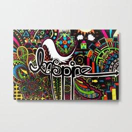 """""""Inspire"""" Metal Print"""