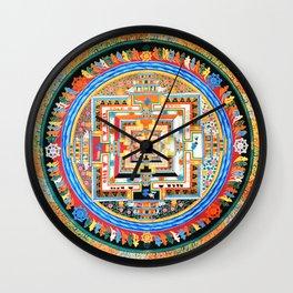 Mandala Buddhist 8 Wall Clock