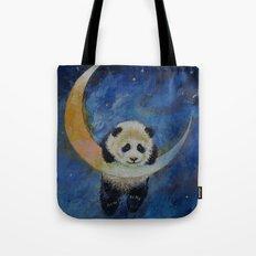 Panda Stars Tote Bag