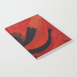 Dancing Poppy Notebook