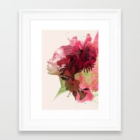 passion Framed Art Prints featuring Passion by Magenda