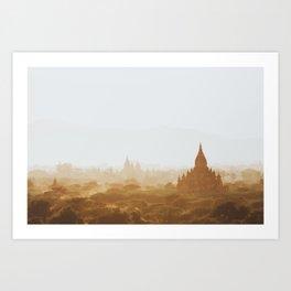 Bagan, Myanmar II Art Print