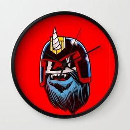 Yeticorn Comic Heroes series: Judge Dredd!  Wall Clock