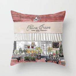 McKinney Square Shop Throw Pillow