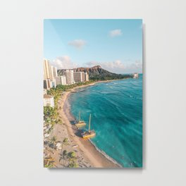 DIAMOND HEAD Metal Print