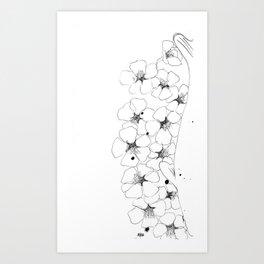 KOI 07 Art Print