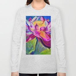 """Flor de Lotus"" Long Sleeve T-shirt"