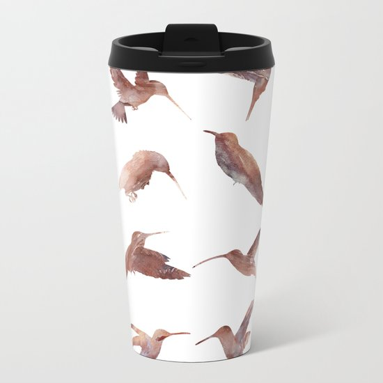Hummingbird Squad Metal Travel Mug