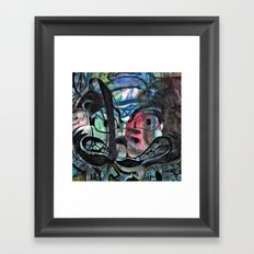 gears riddled into nicks Framed Art Print