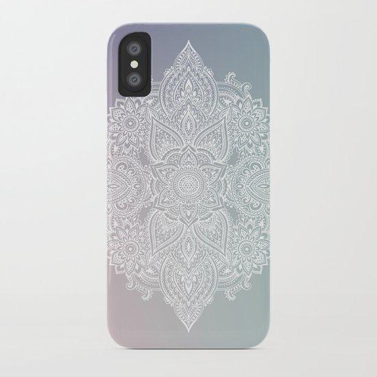 Mehndi Tattoo Ancient India iPhone Case