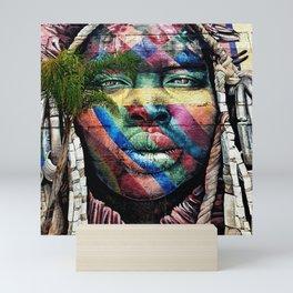 Graffiti Tribe Art Mini Art Print