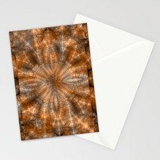 Fractal Imagination I - Amber Stationery Cards