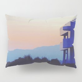 Sunset at the Getty Pillow Sham