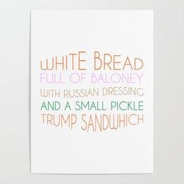 Trump Sandwhich Poster