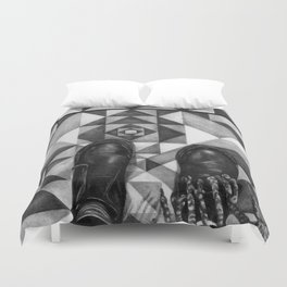 Art Beneath Our Feet - Berlin Duvet Cover