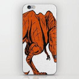 wicked dinosaur iPhone Skin