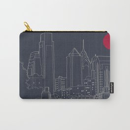 Philly Blueprint Carry-All Pouch