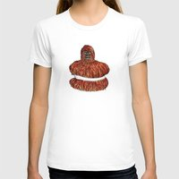 pie T-shirts featuring wookie pie by ronnie mcneil