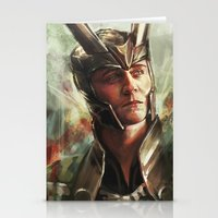 prince Stationery Cards featuring The Prince of Asgard by Alice X. Zhang
