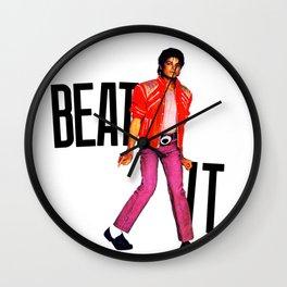 Beat It - MJ Wall Clock