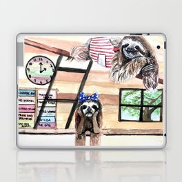 Peek into a treehouse Laptop & iPad Skin