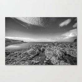 Rocky Beach 2 Milovaig Isle of Skye Canvas Print