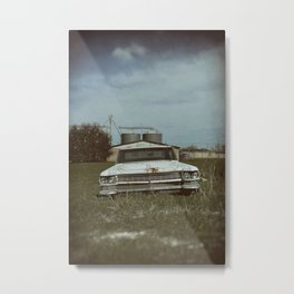 Cadillac Dreams Metal Print