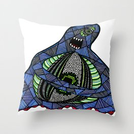The All-Seeing Eyeball Throw Pillow