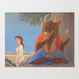 Ferdinand the Minotaur - 1st version Canvas Print