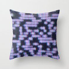 Painted Attenuation 1.3.2 Throw Pillow