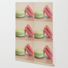 pistachio & strawberry ... Wallpaper