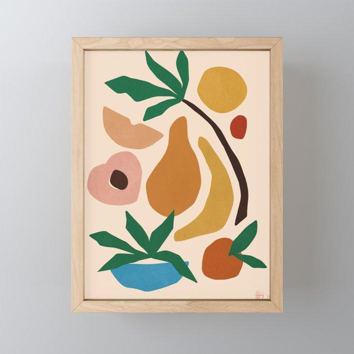 Fruit salad Framed Mini Art Print