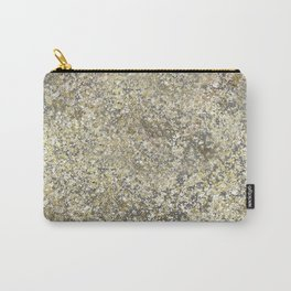 Gold Leaf Crackle Sparkle Carry-All Pouch
