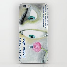Horton Hears a Doctor Who iPhone Skin