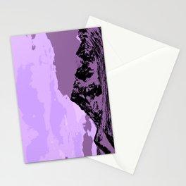 Chugach Mountains - EggPlant Pop Art Stationery Cards