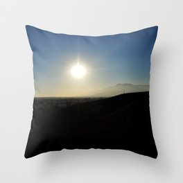 The Brightest Star Throw Pillow