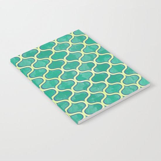 Watercolor Lovely Pattern VVV Notebook