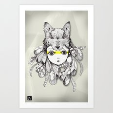 Be A Warrior Art Print