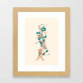 Oskar print #2 Framed Art Print