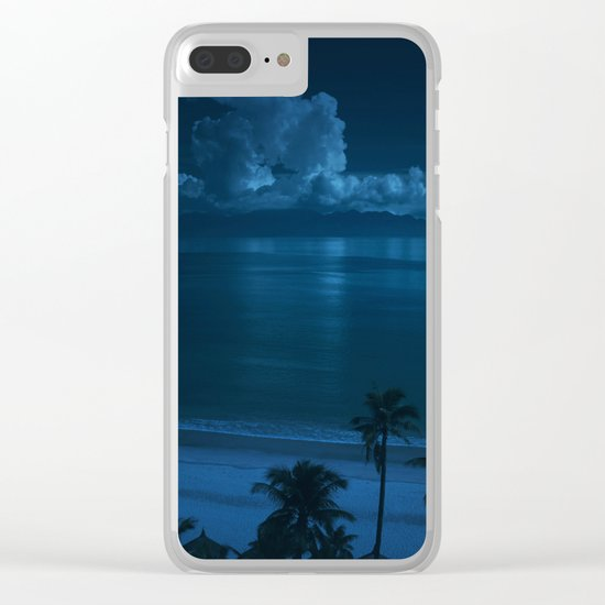 Ocean Storms Clear iPhone Case
