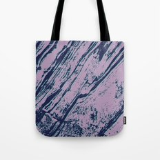 Lilac marble effect Tote Bag