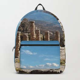 Oracle of Delphi, Pytho, Greece lovers, ancient Greece photography, Greek temple, Delphi Oracle Backpack