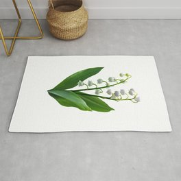 Lily of the Valley Floweret Rug