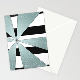 4Shades Glass: B/W Reverse Stationery Cards