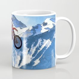 Mountain View-Motocross Rider Coffee Mug