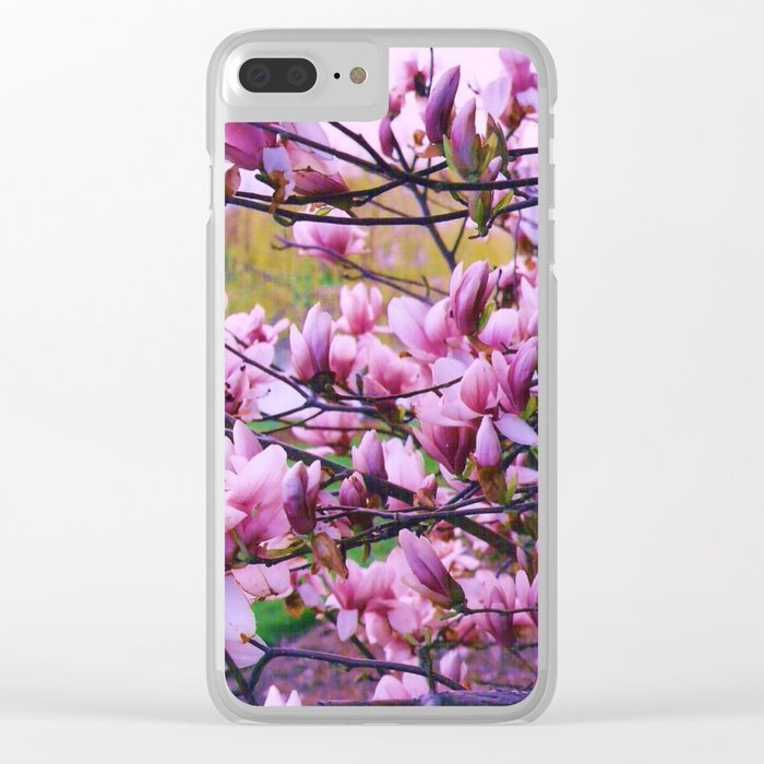 Signs of Spring Clear iPhone Case