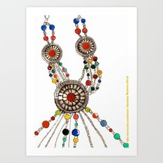 My favourite necklace  Art Print